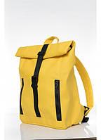 Рюкзак рол Рюкзак женский Рюкзак для девушки Повседневный женский рюкзак Женский рюкзак желтый