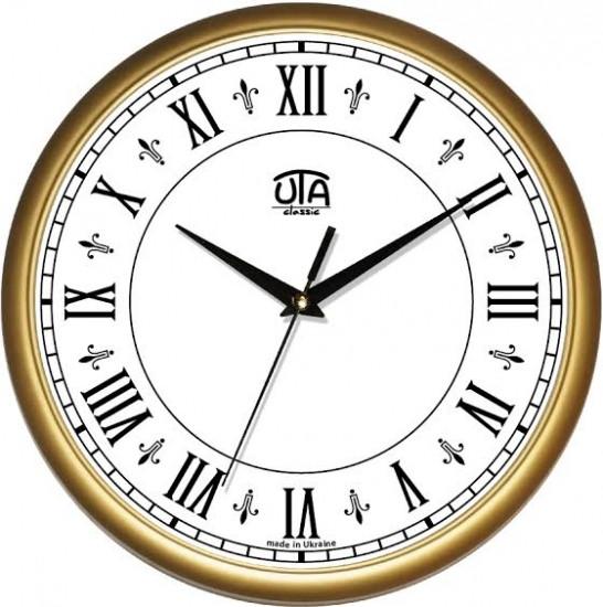 Настенные Часы Сlassic Римские Цифры Gold