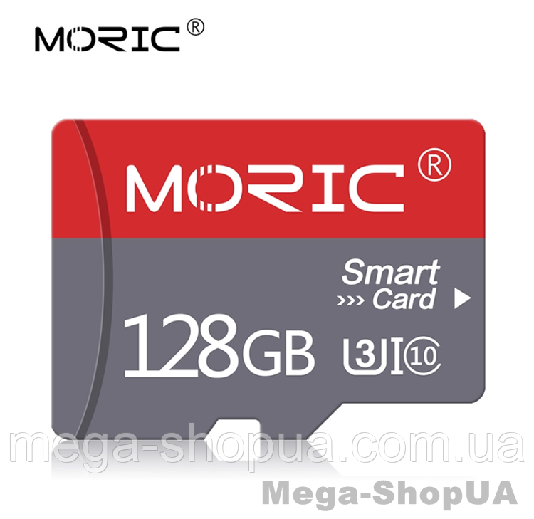 Карта памяти 128GB microSD Class 10 + SD-adapter. Карта памяти микро сд 128 гб Moric Smart Card XC321S