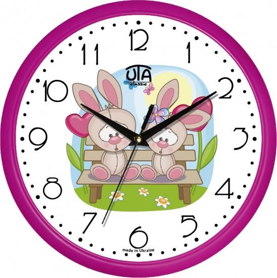 Настенные Часы Сlassic Зайка Моя Pinck