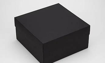 Подарочная коробка Grand черная 20х20х10 см