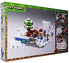 """Конструктор майнкрафт BELA Minecraft """"Зимняя рыбалка""""  215 деталей, фото 3"""