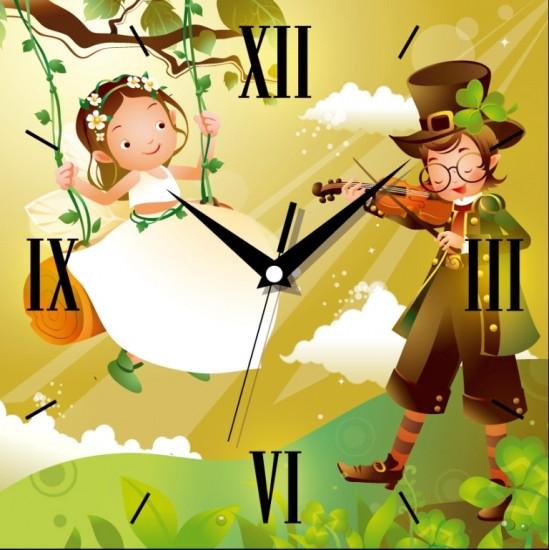 Настенные Часы Panorama Волшебная Скрипка