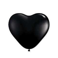 """Сердце 12"""" KALISAN-КЛ пастель черный"""