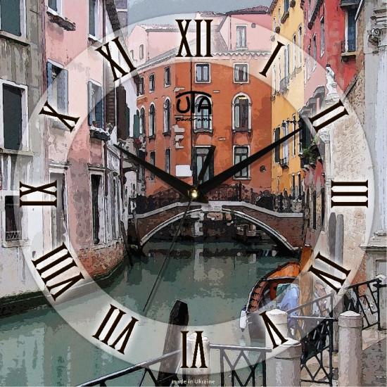 Настенные Часы Panorama Каналы Венеции