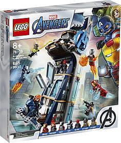 Lego Super Heroes Битва за башню Мстителей (76166)