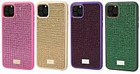 TPU чехол Bling World Grainy Diamonds стразы для iphone 12 mini