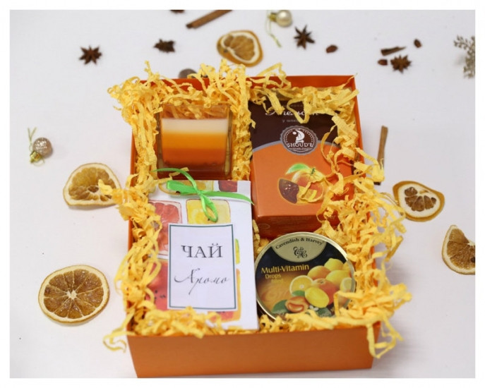Подарочный набор Апельсиновое настроение