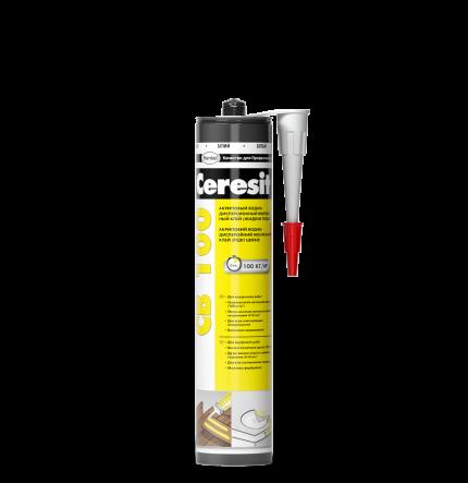 Клей монтажный Ceresit CB100 акрилвый 400гр Henkel