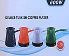 Турка Deluxe Turkish Coffee Maker   Электрокофеварка   Электрическая турка для кофе, фото 5