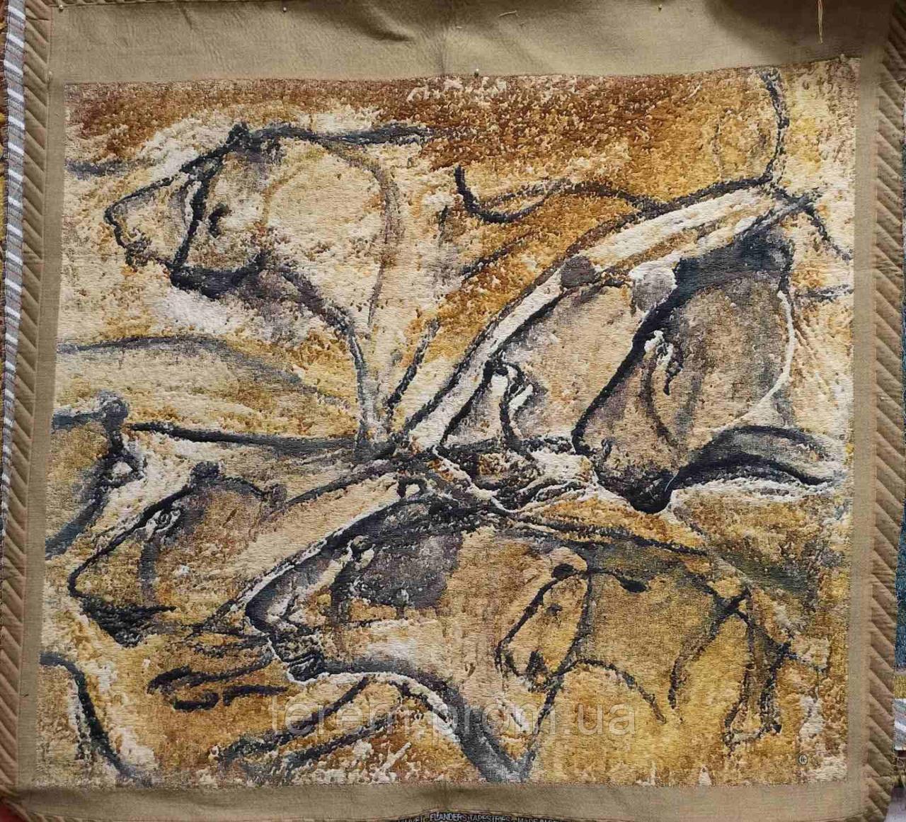 Гобеленовая картина Flanders Tapestries Lions of Chauvet (Львы Шове)  без подкладки