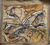Гобеленовая картина Flanders Tapestries Lions of Chauvet (Львы Шове)  без подкладки, фото 1