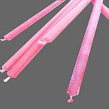 Свеча воская розовая, фото 2