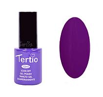 Гель-лак №123 Tertio,  Темно-пурпурный