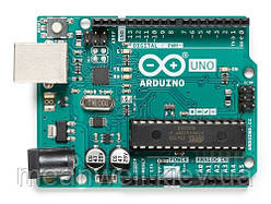 Arduino Uno Rev3 A000066, плата микроконтроллера Ардуино на базе ATmega328 ► Оригинал ✅ Made in Italy ✅◄