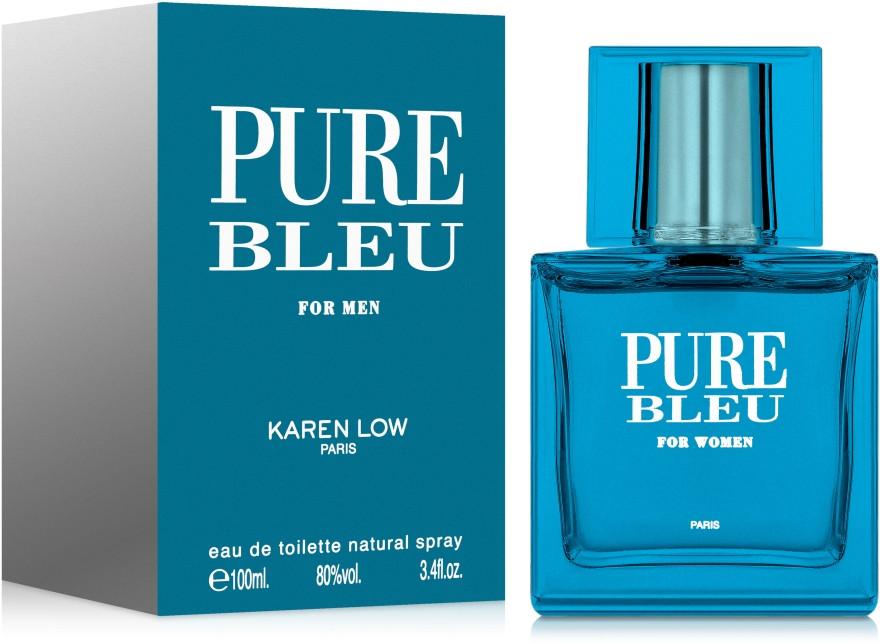 Мужская парфюмерная вода  Pure BLEU 100ml. Karen Love.Geparlys.