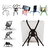 Держатель для телефона подставка паук