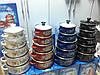 Набор эмалированных кастрюль с стеклянными крышками из 5 шт PREMIER PR-673