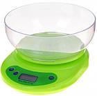 Электронные кухонные весы VITEK ACS KE1 до 5 кг | Весы с чашей | Весы для продуктов, фото 4