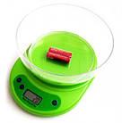 Электронные кухонные весы VITEK ACS KE1 до 5 кг | Весы с чашей | Весы для продуктов, фото 3