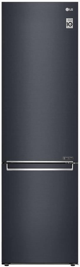 Холодильник з морозильною камерою LG GBB72MCEFN