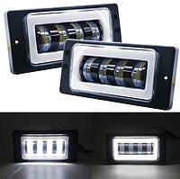 Світлодіодні Протитуманні фари Лада 2110-2117 (2 шт) LED, 12-30 В, 62 Вт, фото 1