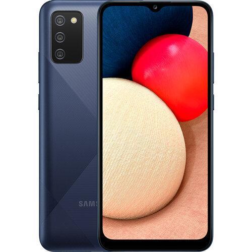 Смартфон Samsung Galaxy A02S 3/32GB Blue (SM-A025FZBESEK) UA