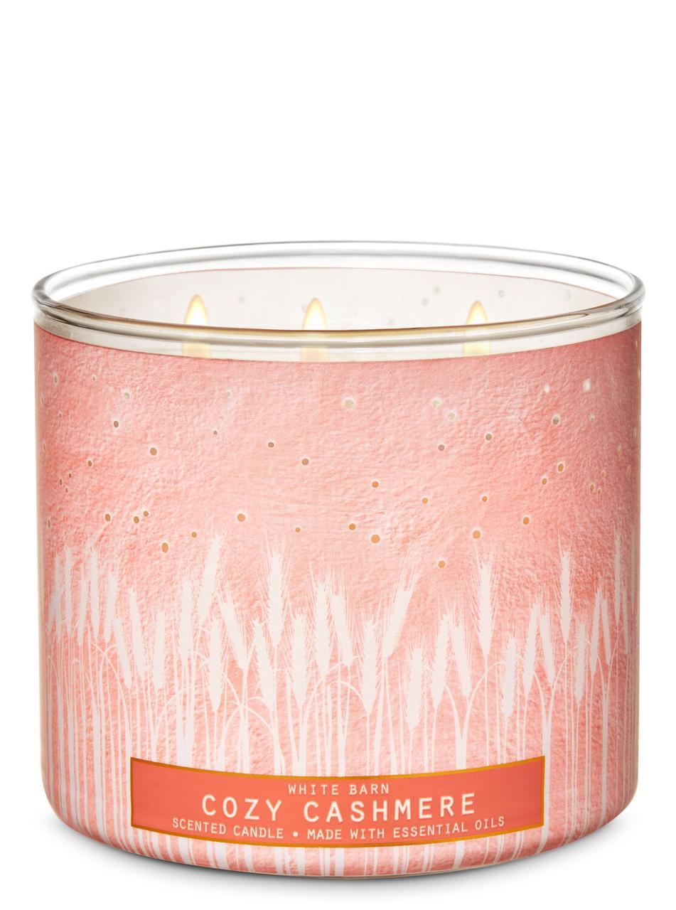 Свеча ароматизированная Bath and Body Works Cozy Cashmere Scented Candle 411 г
