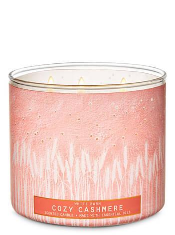 Свеча ароматизированная Bath and Body Works Cozy Cashmere Scented Candle 411 г, фото 2