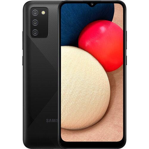 Смартфон Samsung Galaxy A02S 3/32GB Black (SM-A025FZKESEK) UA