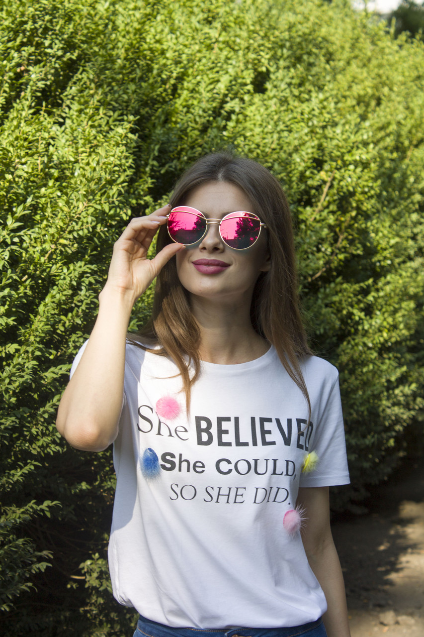 Солнцезащитные женские очки 8307-4