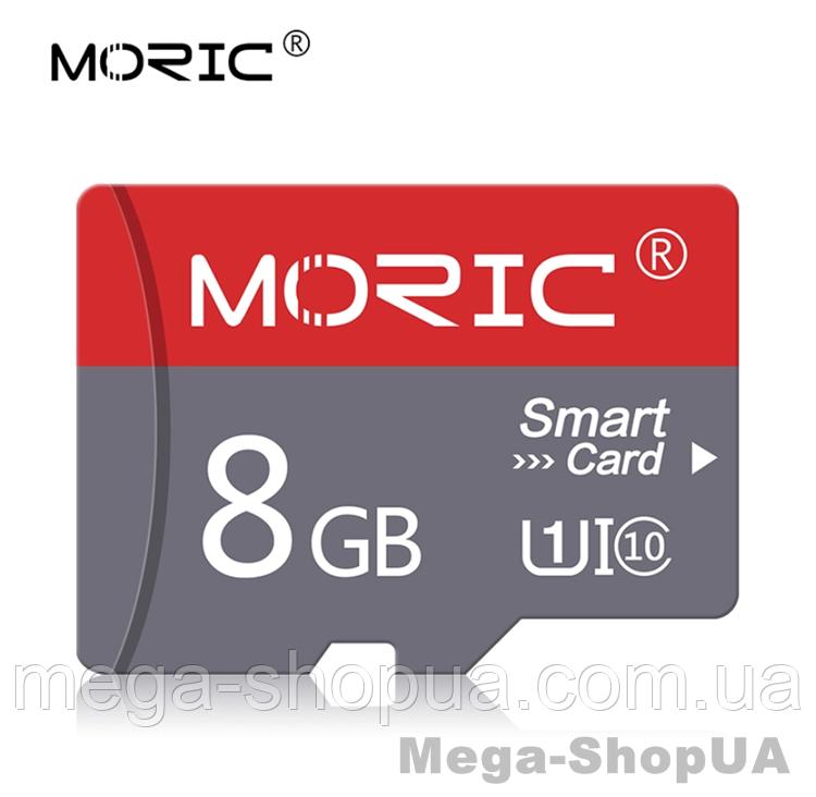 Карта памяти 8GB microSD Class 10 + SD-adapter. Карта памяти микро сд 8 гб Moric Smart Card XC321S