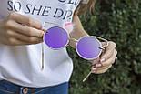 Солнцезащитные женские очки 1180-1 фиолетовое напыление, фото 5