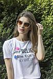 Солнцезащитные женские очки 8326-2, фото 5