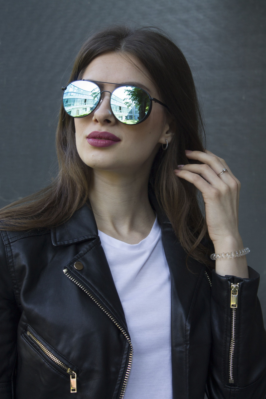 Женские очки  (8308- Черная оправа)
