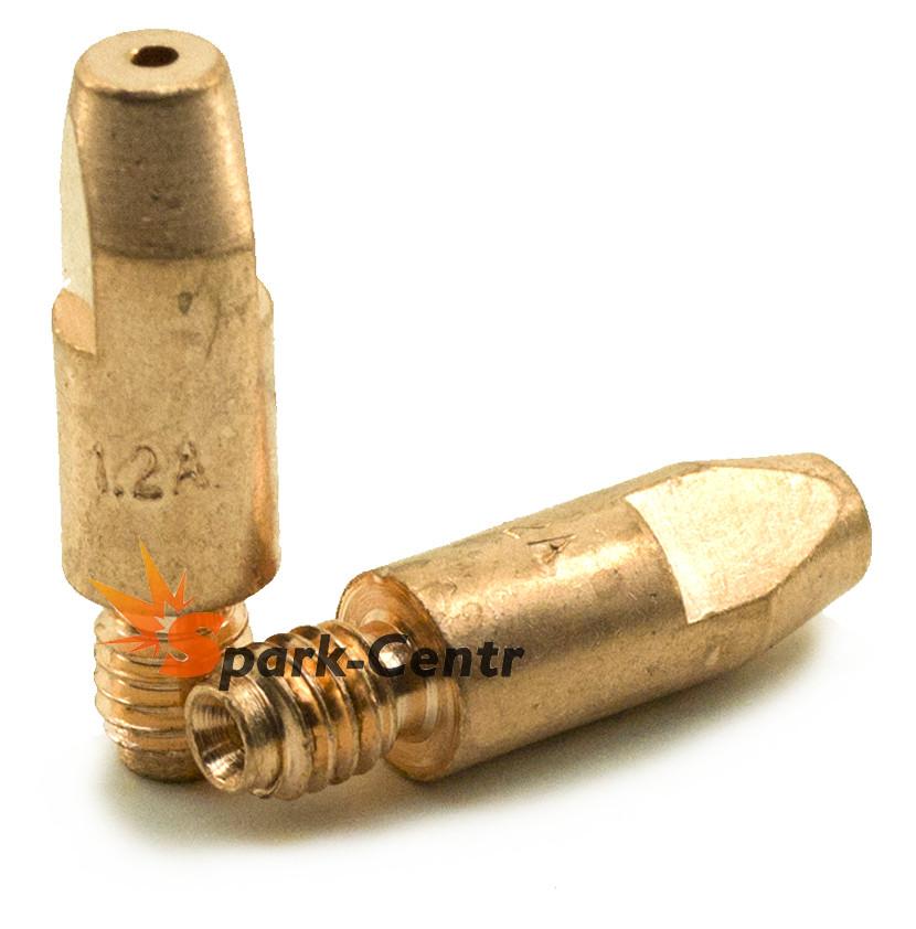 Накінечник токоз'ємний для алюмінію (E-Cu для Al) Ø1,2 мм М6х28 для пальників MB 24 (MIG/MAG)