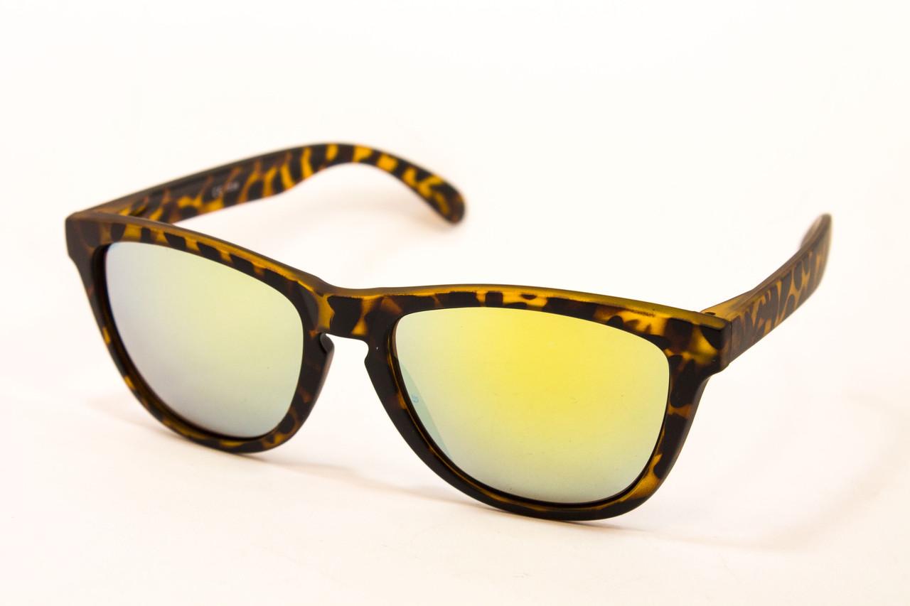 Леопардовые очки Wayfarer 911-77