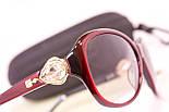 Качественные очки с футляром F1040-30, фото 4