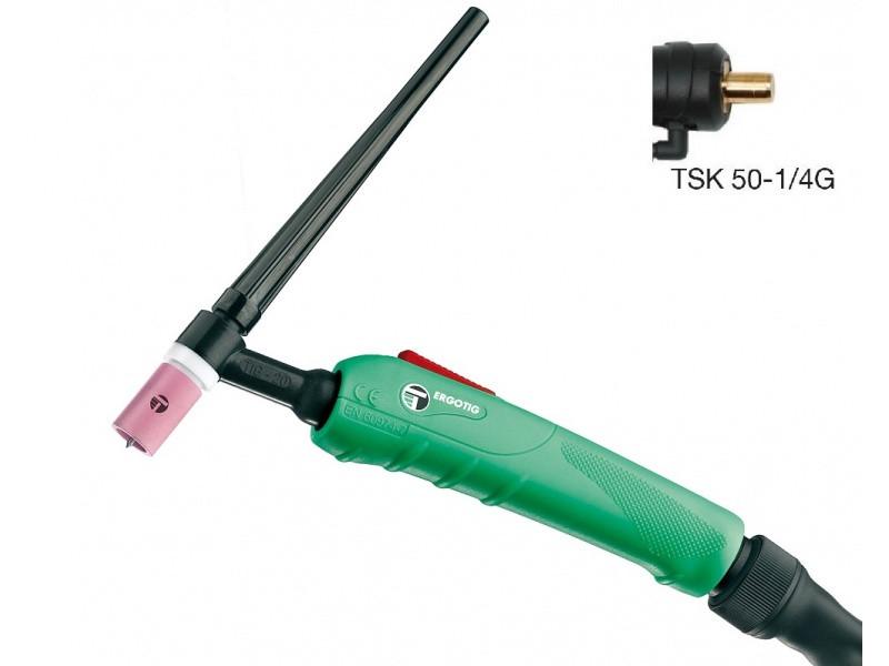 Зварювальний пальник ERGOTIG (GTAW) 20 4M TSK50 1 / 4G SINTIG з водяним охолодженням Trafimet  з водяним охолодженням Trafimet