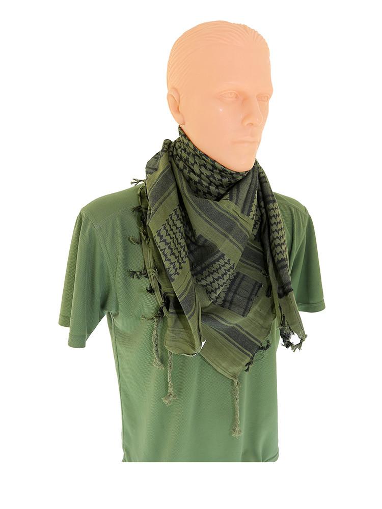 Арафатка платок (Куфия) олива-черная MIL-TEC