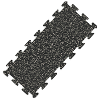 Гумове покриття GymStyle PuzzleGym 976х432х10 мм (ЕПДМ 15%)