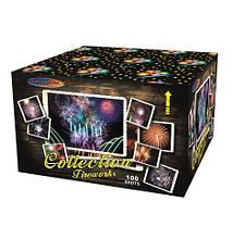Салютная установка  СУ 100 зар. 30 мм Collection Firework GWM6102