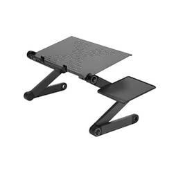 Регулируемый портативный алюминиевый столик для ноутбука