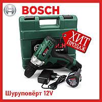 Шуруповерт аккумуляторный BOSCH PBA Easydrill 1200 12В 2А/ч Шуруповёрт БОШ Аккумуляторный 12В 2А/ч
