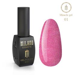 ГЕЛЬ ЛАК MILANO MIRACLE 8ML № 01
