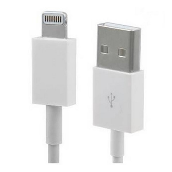 Кабель USB (тато) = Apple Lighting (тато) 1.8 м ATcom 15260