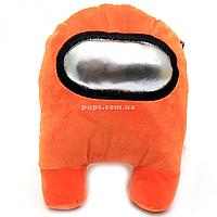 Мягкая игрушка «Космонавт Among Us» Амонг Ас, Оранжевый, 15х20х25 см (00006-04)