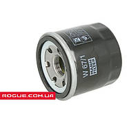 Фильтр маслянный MANN для Nissan Rogue   W 67/1