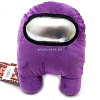 Мягкая игрушка «Космонавт Among Us» Амонг Ас, фиолетовый, 15х12х23 см (00006-03)