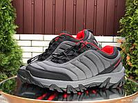 Мужские термо кроссовки Merrell waterproof,серые